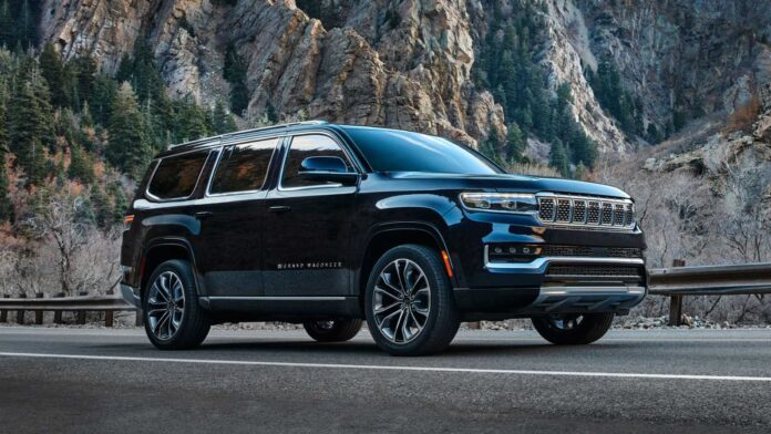 Jeep grand wagoneer 2022 first insight